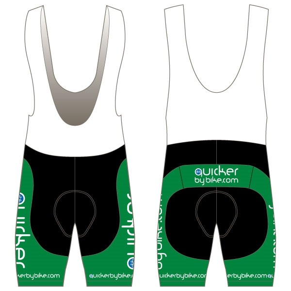Quicker by Bike Twenty-Twelve Bibshorts