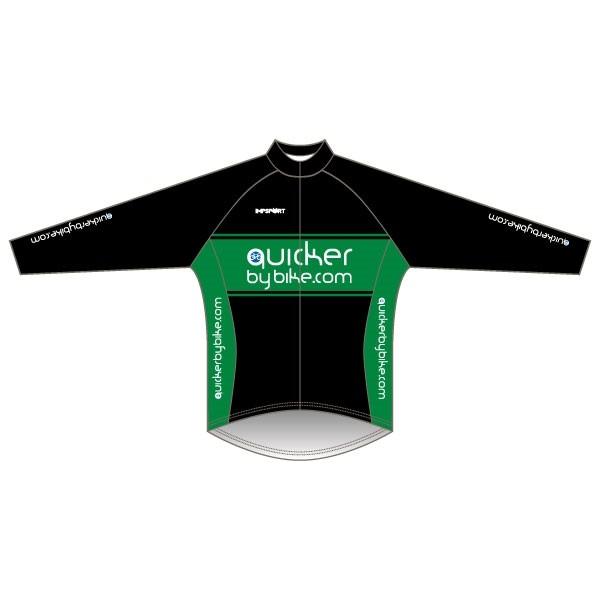 Quicker by Bike Lightweight Training Jacket