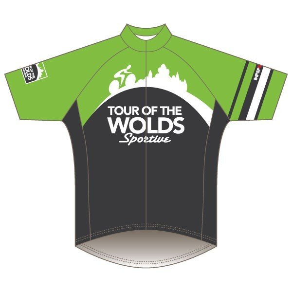 Impsport Tour of the Wolds Sportive 2017 Road Jersey