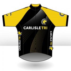 Carlisle Tri Short Sleeved Velocity Cycling Jersey