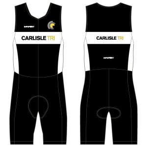 Carlisle Tri Junior Tri Suit - Front Zip - No Pockets