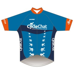 CycleChat Short Sleeved Pro Road Jersey