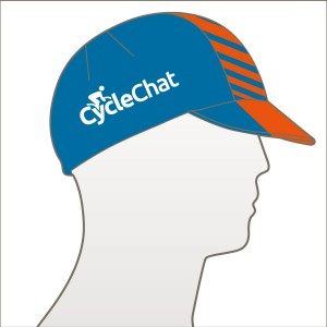 CycleChat Centre Band Cycle Cap
