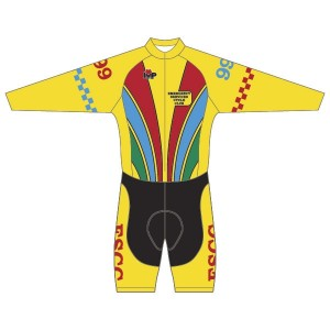 ESCC Long Sleeved Twenty-Twelve Skinsuit