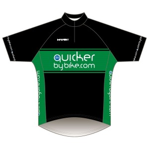 Quicker by Bike Short Sleeve Road Jersey