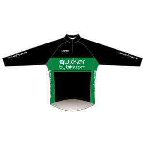 Quicker by Bike Long Sleeve Road Jersey