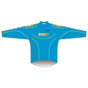 East London Triathletes Sky Cycling Kit Long Sleeved Road Jersey