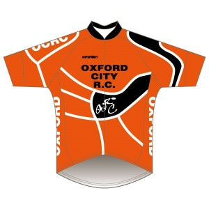 Oxford City RC Short Sleeved Pro Road Jersey