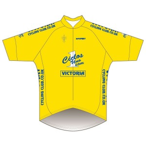 Victoria CC - Yellow Design Pro Road Jersey