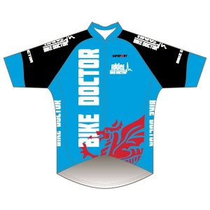 Bike Doctor - Blue Design Pro Road Jersey