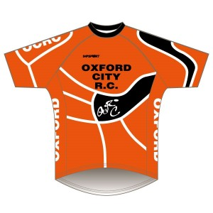 Oxford City RC Short Sleeved Downhill Jersey