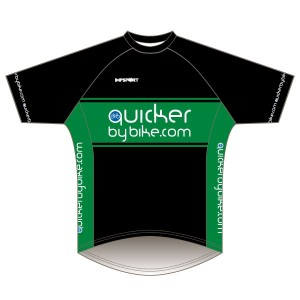 Quicker by Bike Short Sleeved Downhill Jersey