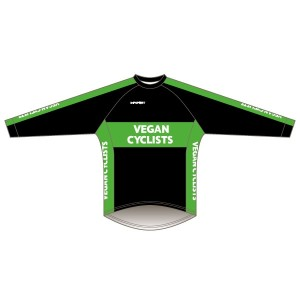 Vegan Cyclists Long Sleeved Downhill Jersey