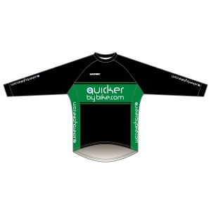 Quicker by Bike Long Sleeved Downhill Jersey