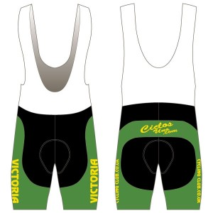Victoria CC - Green Design Twenty-Twelve Bibshorts