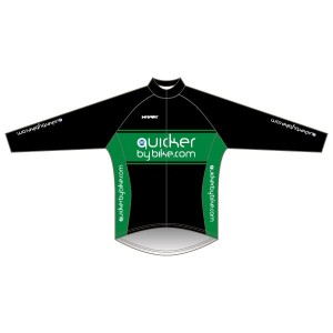 Quicker by Bike Rain Jacket