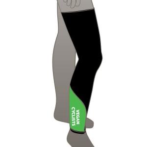 Vegan Cyclists Leg Warmers