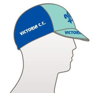 Victoria CC - Bianchi Design Multi Panel Cycle Cap