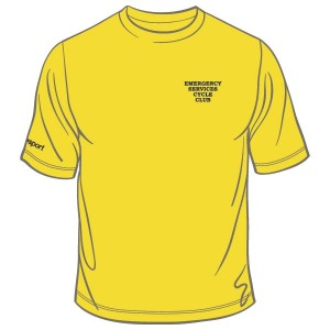Emergency Services Cycle Club Cool T