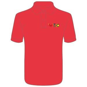 Washingborough Tennis Club Childrens Polo Shirt - Red or White