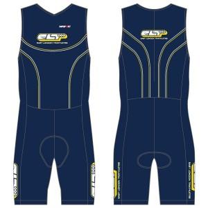East London Triathletes Unsponsored Kit Ladies Tri Suit with Pockets