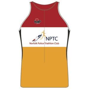 Norfolk Police Triathlon Club Men's Tri Top - no Pocket