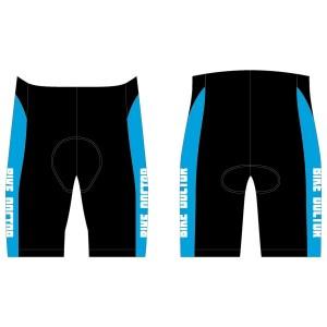 Bike Doctor - Blue Design Tri Shorts - no Pockets