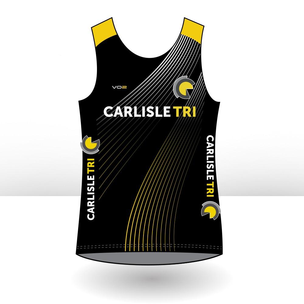 Carlisle Tri Ladies Storm Singlet - Running Vest