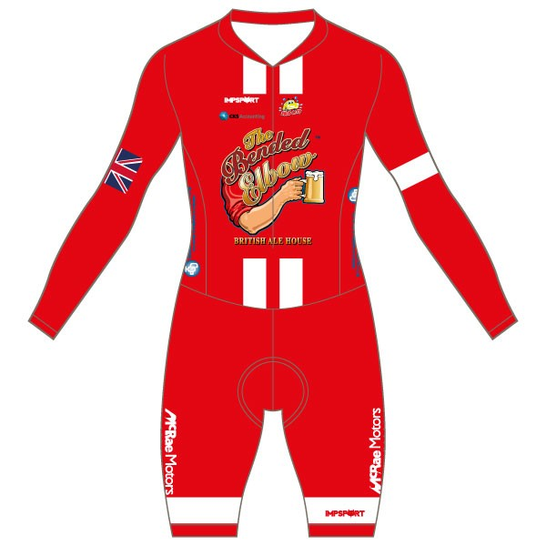 The Bended Elbow Custom Bodyfit Race Suit