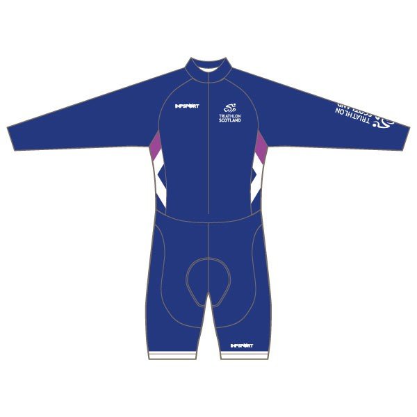 Triathlon Scotland Long Sleeved Twenty-Twelve Skinsuit
