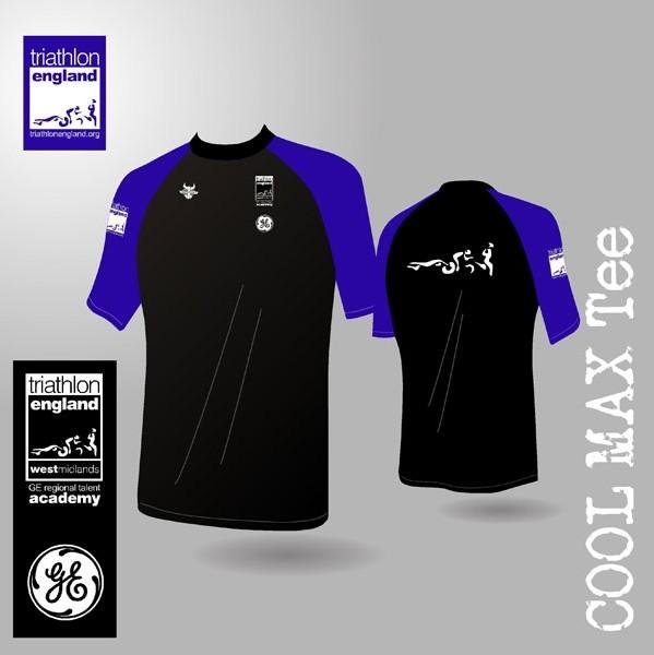 West Midlands Region Short Sleeve Athletic t-shirt