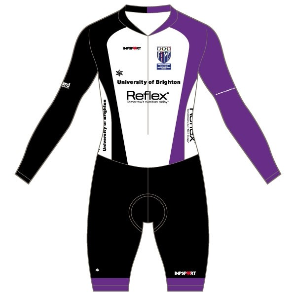 University of Brighton Custom Bodyfit Race Suit