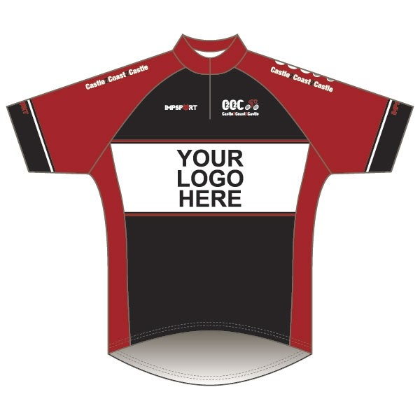 C2C2C Corporate Sponsored Kit Short Sleeve Road Jersey Short Zip