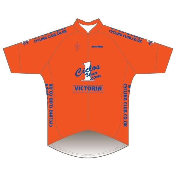 Victoria CC - Orange Design Pro Road Jersey