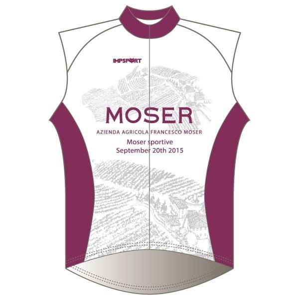 Moser Sportive GB Windproof Gilet - Full Back