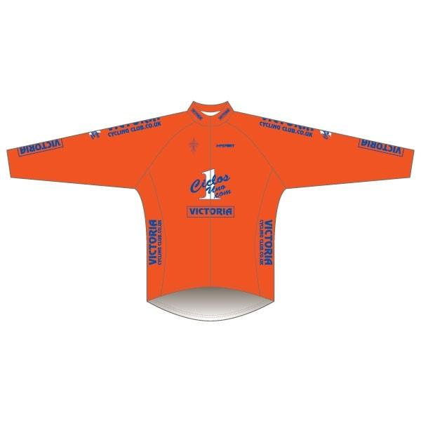 Victoria CC - Orange Design Rain Jacket
