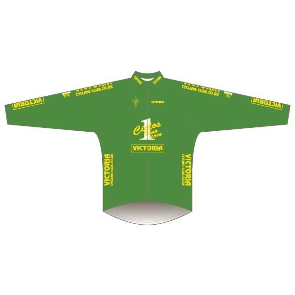 Victoria CC - Green Design Winter Training Jacket