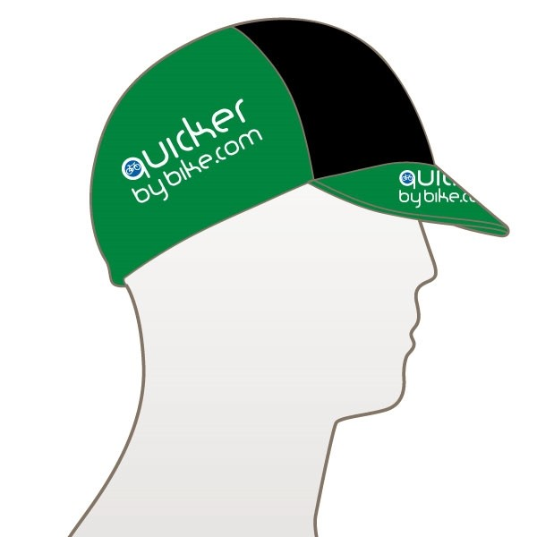 Quicker by Bike Multi Panel Cycle Cap