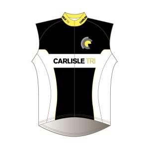 Carlisle Tri Junior Rain Gilet - Mesh Back