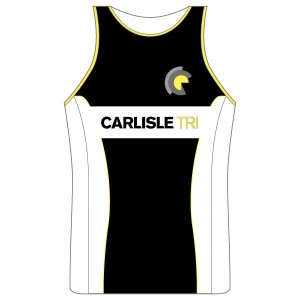 Carlisle Tri Junior Running Vest - Full Back