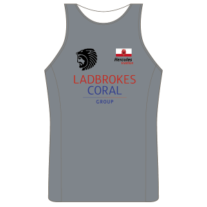Gibraltar Triathlon Running Vest - Full Back