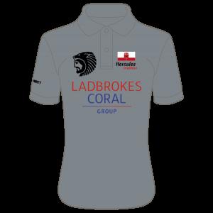 Gibraltar Triathlon Cool Polo (Charcoal)