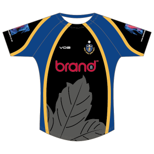 West Park Leeds Sport Fit Round Neck Rugby Shirt (Youth)
