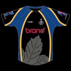 West Park Leeds Sport Fit Round Neck Rugby Shirt (Adult)