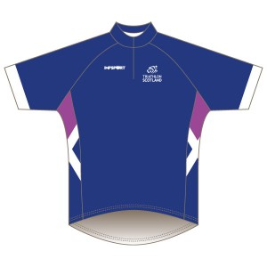 Triathlon Scotland Junior Short Sleeved Road Jersey