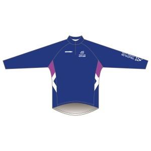 Triathlon Scotland Junior Long Sleeved Road Jersey