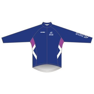 Triathlon Scotland Junior Winter Training Jacket