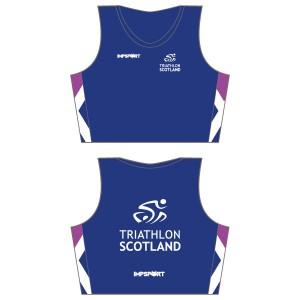 Triathlon Scotland Crop Top