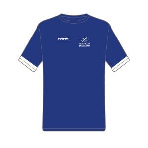 Triathlon Scotland Junior Short Sleeved T-Shirt
