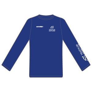 Triathlon Scotland Long Sleeved T-Shirt